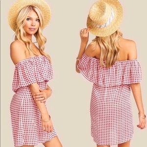 Show Me Your Mumu Can Can Dress Cherry Pie Gingham